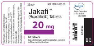 jakafi label