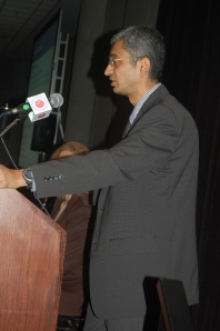 PARDANANI AT PODIUM