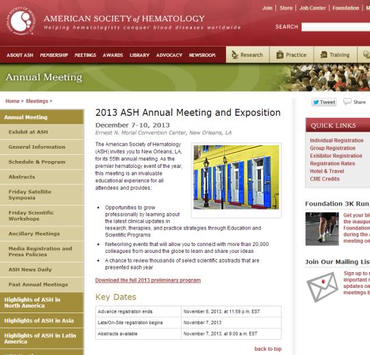 ASH 2013 page