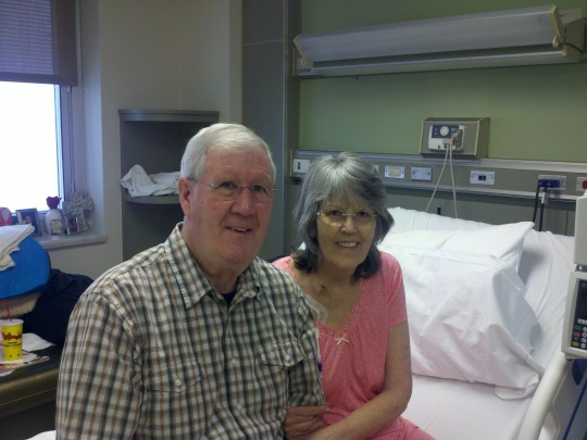Patsy and Husband stem cells