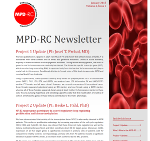 MPDRC newsletter
