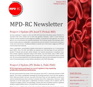 MPDRC newsletter