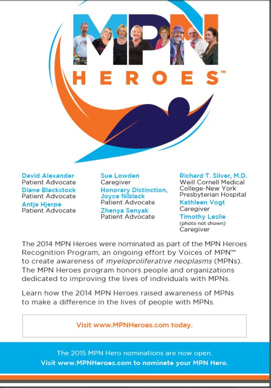 MPN Heroes 2015