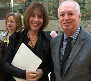 Julie with Bill Crowley, MPNRF
