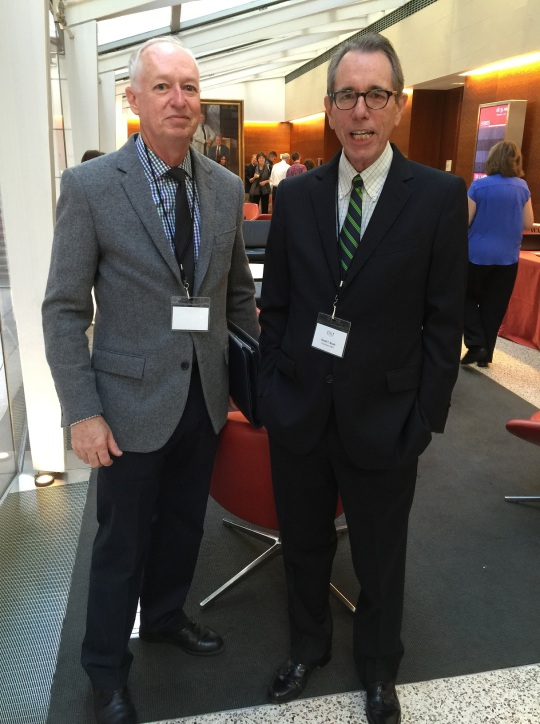 David Boule with MPNRF's Bill Crowley.