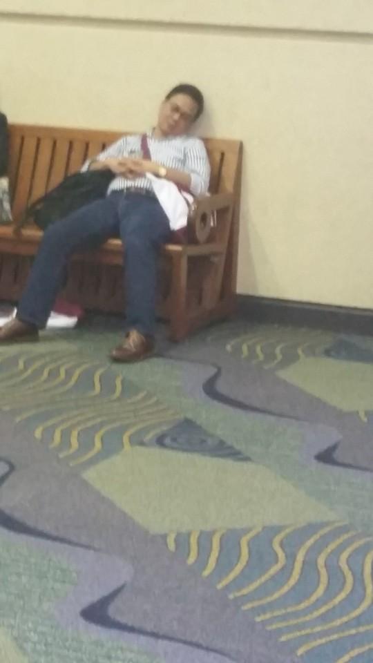 ASH sleeping man