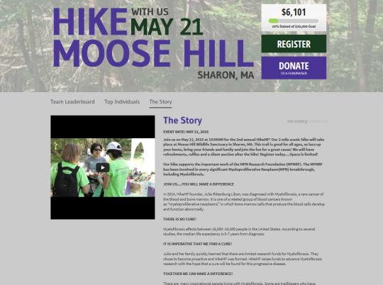 Hike Moose Hill